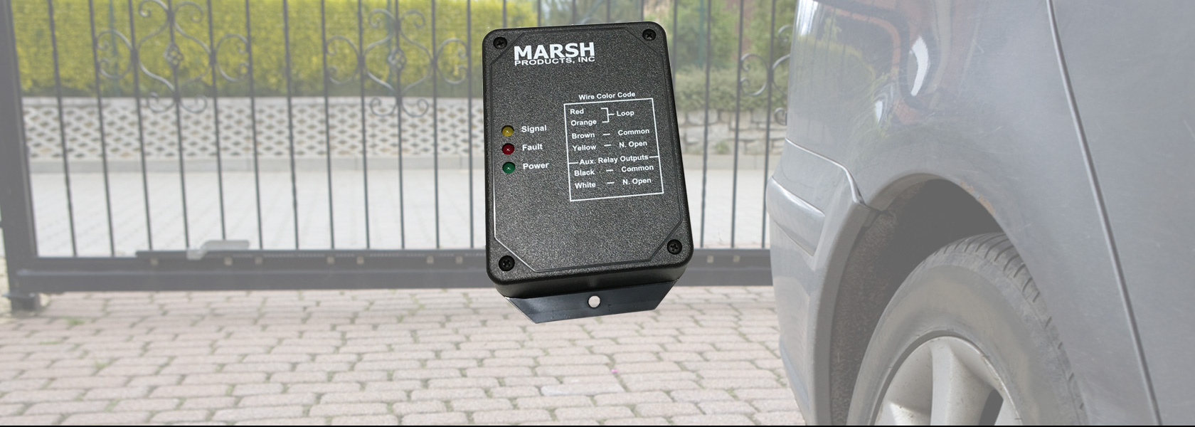 Marsh Products Vehicle Detector