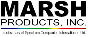 Marsh Products logo. Click to return to home page.